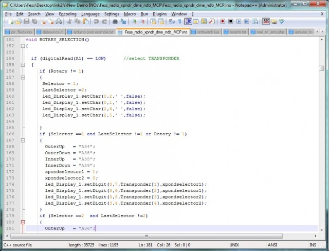 Notepad++ Screen Grab
