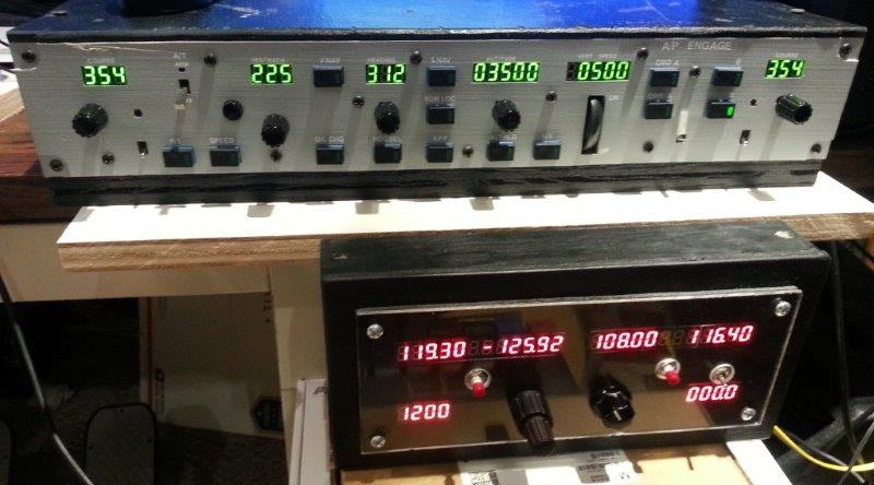 See my radio stack and mcp in action the geek forge com